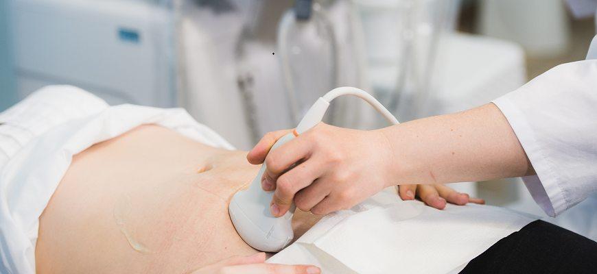 Ultrasound woman