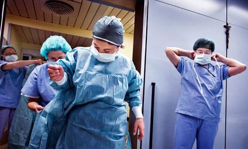Подготовительный процесс к операции