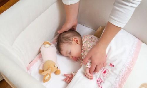 Малышка заснула