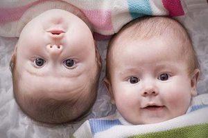 Малыши-близнецы