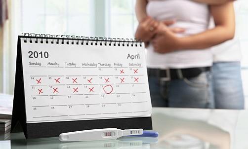 Слабая полоска на тесте на беременность что означает
