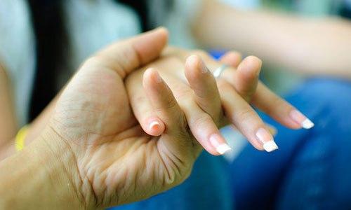 Нежные руки