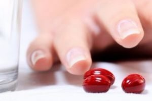 Красные таблеточки