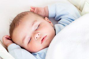 Спящий малышок